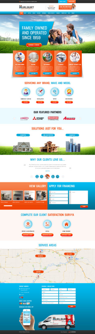 Wisconsin HVAC Web Design | Wisconsin HVAC Website Designer